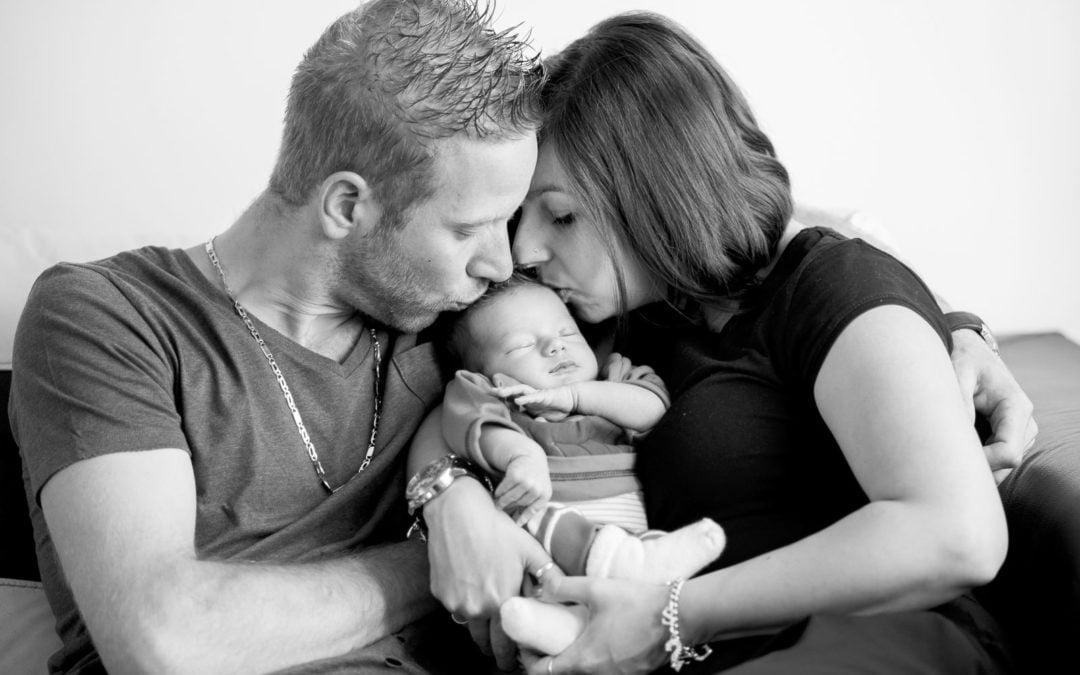 Séance photos bébé à domicile