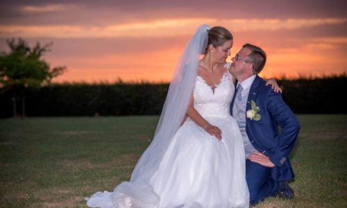 Résumé du reportage photos du mariage de Julie et de Christophe
